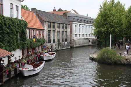 De Vlaamse Waterweg foto Brugse Reien